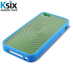 Funda iPhone 5S / 5 Ksix Retro Games - verde/ azul