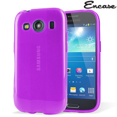 Custom moulded for the Samsung Galaxy Ace 4, this purple FlexiShield case provides slim fitting and durable protection against damage, while showcasing the sleek aesthetics of your smartphone.