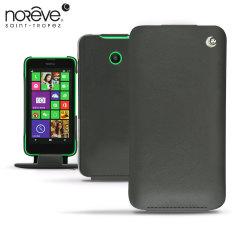 Noreve Tradition Nokia Lumia 630 / 635 Genuine Leather Case - Black