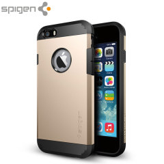 Spigen Tough Armor iPhone 6S / 6 Hülle in Champagne Gold