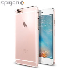 Custodia Thin Fit Spigen per iPhone 6 - Trasparente