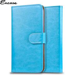 Encase Wiko Lenny Tasche Wallet Case in Blau