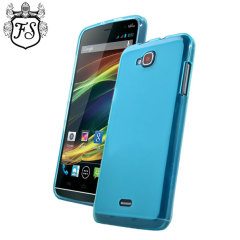 FlexiShield Case Wiko Slide Hülle in Blau
