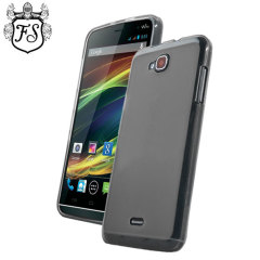 FlexiShield Case Wiko Slide Hülle in Smoke Black