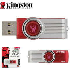 Kingston DataTraveler 101 8GB USB 2.0 Memory Stick