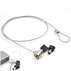 Laptop PC Kensington Security Lock and Chain Cable