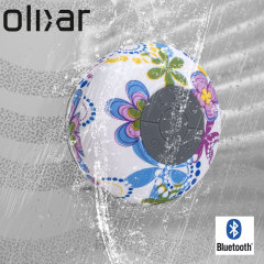 Olixar AquaFonik Bluetooth Shower Speaker - Flower