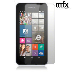Keep your Nokia Lumia 530's screen protected from scratches while keeping it clean and pristine with the MFX Screen Protector 5 pack.