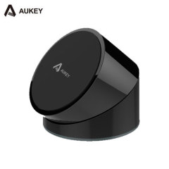 Aukey Q19 Qi Rotatable Wireless Charging Stand - Black