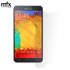 Keep your Samsung Note 3 Neo screen in pristine condition with this MFX scratch-resistant screen protector.