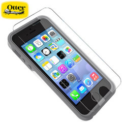 Protection d'écran iPhone 5S Otterbox en Verre Trempé compatible coque