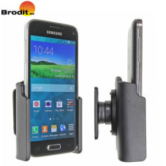 Use your Samsung Galaxy S5 Mini safely in your vehicle with this small, neat and discreet Brodit Passive holder.