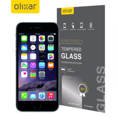 This ultra-thin tempered glass screen protector for the iPhone 6 from Olixar offers toughness, high visibility and sensitivity all in one package.