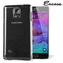 Custodia a guscio in policarbonato per Samsung Galaxy Note 4 - 100% Trasparente