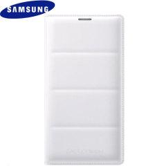 Original Samsung Galaxy Note 4 Flip Wallet Tasche - Weiss