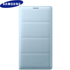 Original Samsung Galaxy Note 4 Flip Wallet Tasche - Minze