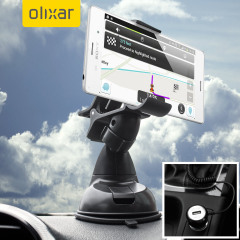 Essential items you need for your smartphone during a car journey all within the Olixar DriveTime In-Car Pack. Featuring a robust one-handed mounting phone car holder and car charger with additional USB port for your Sony Xperia Z3.