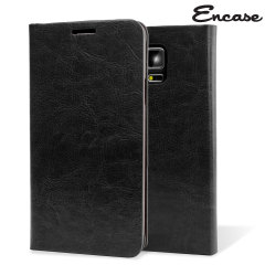 Adarga Wallet and Stand Galaxy Note 4 Tasche in Schwarz