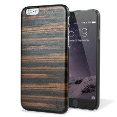 Man&Wood iPhone 6S / 6 Hölzerne Hülle Ebony