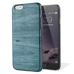 Man&Wood iPhone 6S / 6 Hölzerne Hülle Bolivar Blue