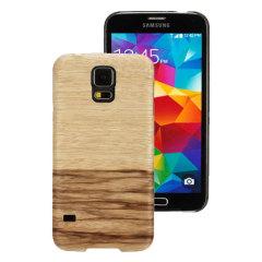 Man&Wood Samsung Galaxy S5 Wooden Case - Terra