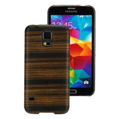 Coque Samsung Galaxy S5 Man&Wood Bois – Ebène