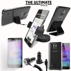 Das Ultimate Pack Samsung Galaxy Note 4 Zubehör Set