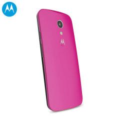 Tapa Trasera Oficial Motorola Moto G 2014 - Rosa