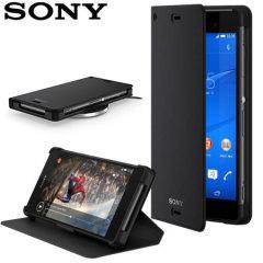 Sony Xperia Z3 WCR14 Wireless Charging etui - czarny