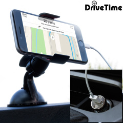 Olixar DriveTime iPhone 6 Kfz Halter & Lade Pack