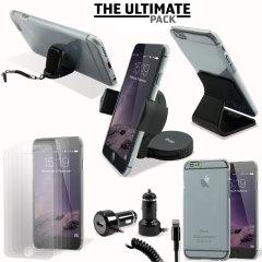 Ce pack ultime d'accessoires iPhone 6 comprend tous les indispensables pour votre smartphone. Ce pack a été conçu pour protéger et ranger votre smartphone que ce soit à la maison, au bureau ou même dans votre véhicule.