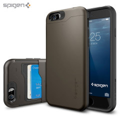 Spigen Slim Armor CS iPhone 6S / 6 Hülle - Gunmetal