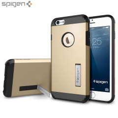 Spigen Tough Armor iPhone 6S Plus / 6 Plus Hülle in Champagne Gold
