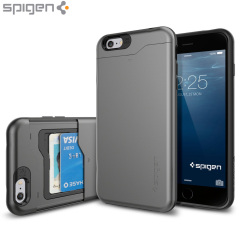 Custodia Slim Armor CS Spigen per iPhone 6 Plus - Gunmetal