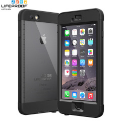 LifeProof Nuud Case iPhone 6 Plus Hülle in Schwarz