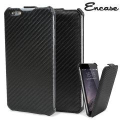 iPhone 6 Plus Tasche im Carbon Fibre Design bietet Schutz vor Schmutz und Beschädigungen.