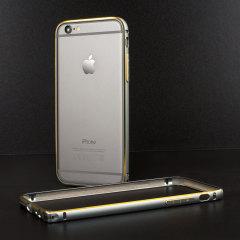 Aluminium Bumper Case iPhone 6 Hülle in Gun Black