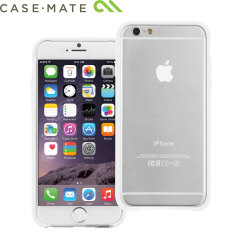 CaseMate Tough Frame Case iPhone 6S / 6 Hülle in Klar / Weiß