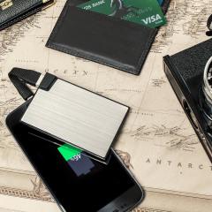 Chargeur de secours Olixar Format Carte de Crédit – 1500mAh