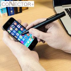 Stylet Connecteur+ 4-en-1 de 700mAh - Noir
