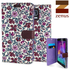 Zenus Liberty Samsung Galaxy Note 4 Diary Case - Meadow