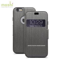 Moshi SenseCover iPhone 6S / 6 Smart Case in Schwarz