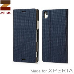 Zenus Metallic Diary Sony Xperia Z3 Case - Navy