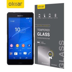 This ultra-thin tempered glass screen protector from Olixar for the Sony Xperia Z3 Compact offers toughness, high visibility and sensitivity all in one package.