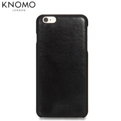 Knomo Leather Snap-on iPhone 6S Plus / 6 Plus Case - Black