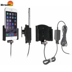 Cargue y use su iPhone 6S Plus / 6 Plus de forma segura en su vehiculo gracias al soporte Activo brodit con base pivotante