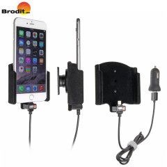 Charge and use your iPhone 7 Plus / 6 Plus in your vehicle with this Brodit active holder with tilt swivel.