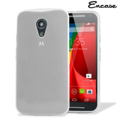 FlexiShield Case Moto G 2nd Generation Hülle in Frost White