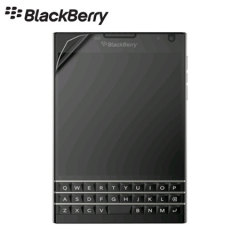 Keep your Blackberry Passport screen in fantastic condition with this two pack of official Blackberry scratch-resistant screen protectors.