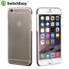 SwitchEasy NUDE iPhone 6S / 6 Ultra Thin Case - Smoke Black